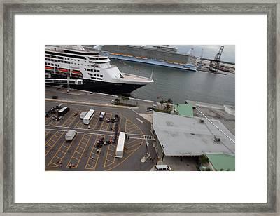 Caribbean Cruise - On Board Ship - 121222 Framed Print