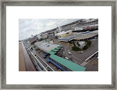 Caribbean Cruise - On Board Ship - 121226 Framed Print