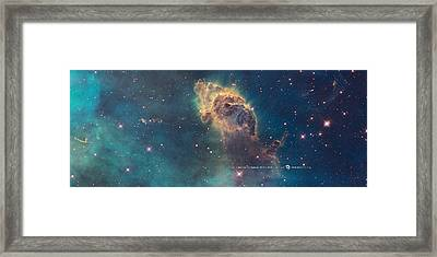 Carina Nebula Framed Print by Nasa