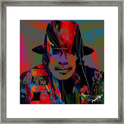 Carlos Santana Collection Framed Print