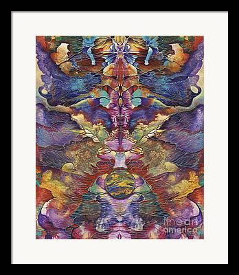 Symetric Framed Prints