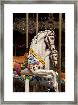Carousel 1 Framed Print by Art Ferrier