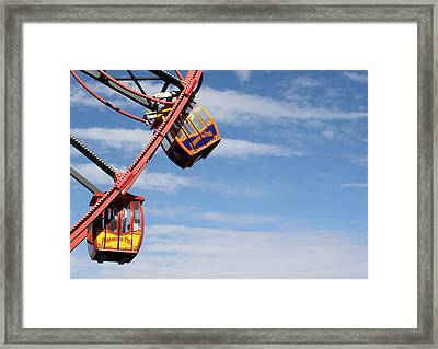 Carousel Twist Framed Print by David Nicholls