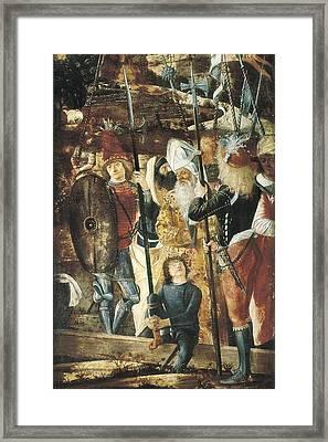 Carpaccio, Vittore 1455-1525 Framed Print by Everett