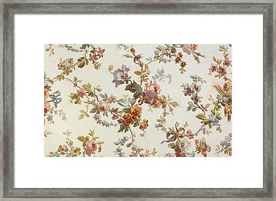 Carpet Design Framed Print by English School
