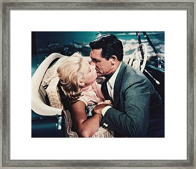 Cary Grant In To Catch A Thief  Framed Print