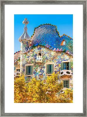 Casa Batllo - Barcelona Framed Print
