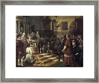 Casado Del Alisal, Jos� 1832-1886. The Framed Print by Everett