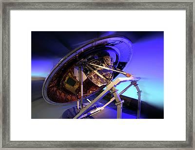 Cassini-huygens Spacecraft Framed Print by Detlev Van Ravenswaay