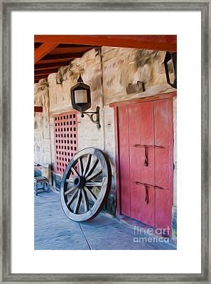 Castillo San Felipe De Barajas Fort II Framed Print