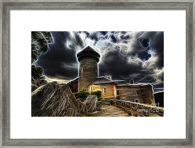 Castle Of The Holy Order Framed Print by Michal Boubin