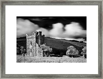 Castle Ruins / Ireland Framed Print