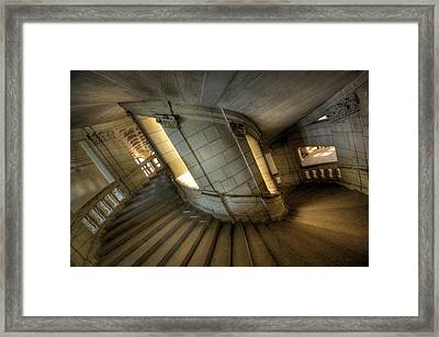Castle Stairs Framed Print by Ioan Panaite