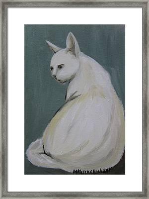 Cat 2014 Framed Print by Maria Melenchuk