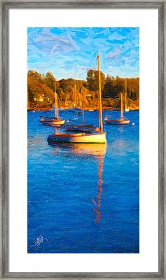 Cat Boat Framed Print by Michael Petrizzo