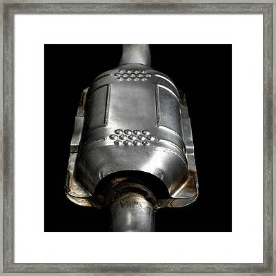 Catalytic Converter Framed Print