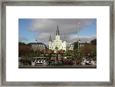 Cathedral Symmetry Framed Print by Robert Sutton