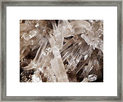 Cave Of Swords Framed Print by Javier Trueba/msf/science Photo Library