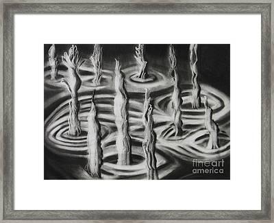 Cave Spring Framed Print