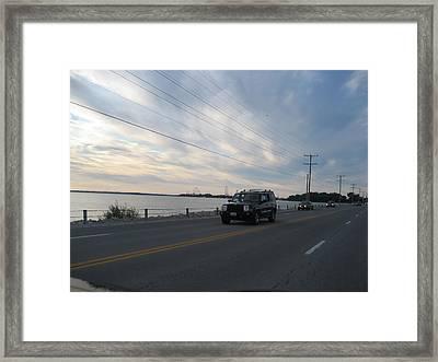 Cedar Point - 12121 Framed Print