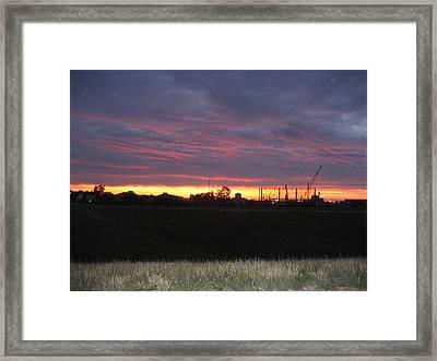 Cedar Point - 121212 Framed Print by DC Photographer