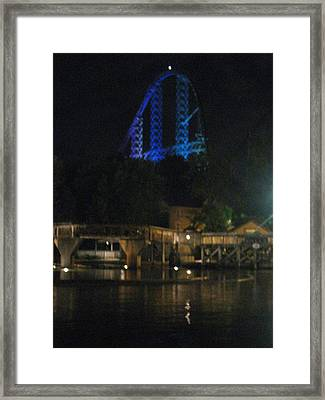 Cedar Point - Millennium Force - 12121 Framed Print