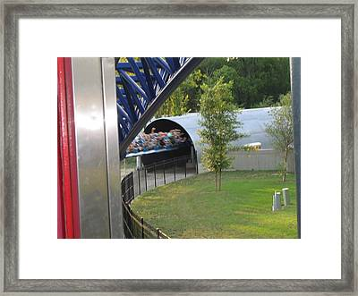 Cedar Point - Millennium Force - 12122 Framed Print by DC Photographer