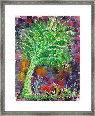 Celery Tree Framed Print