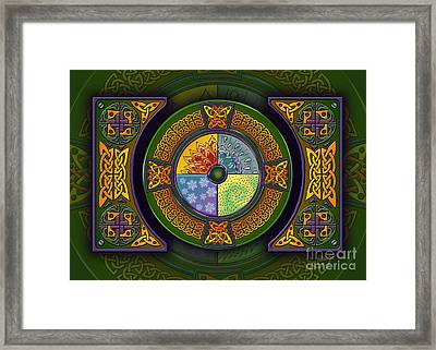 Celtic Elements Framed Print