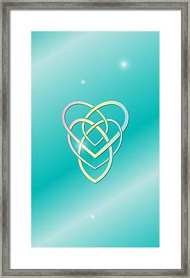 Celtic Motherhood Knot Framed Print by Ireland Calling