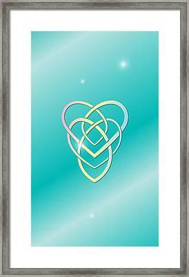Celtic Motherhood Knot Framed Print