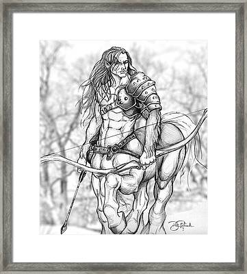 Centaur Framed Print by Bill Richards