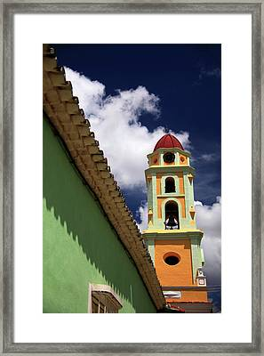 Central America, Cuba, Trinidad Framed Print