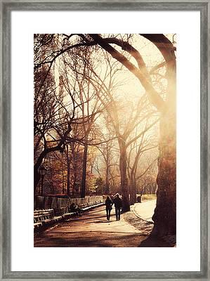 Central Park Afternoon Framed Print by Emmanouil Klimis