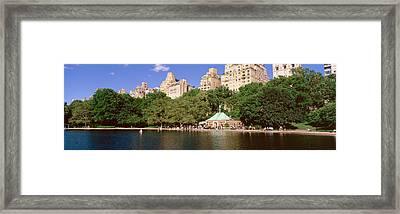 Central Park, Nyc, New York City, New Framed Print