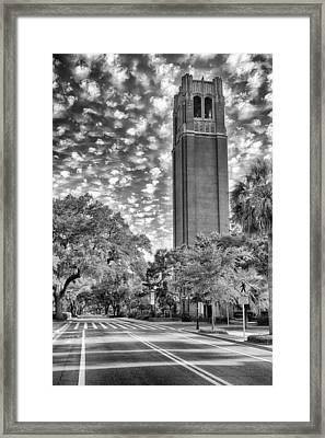 Framed Print featuring the photograph Century Tower  by Howard Salmon