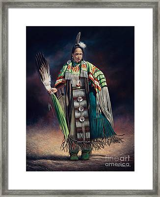 Ceremonial Rhythm Framed Print