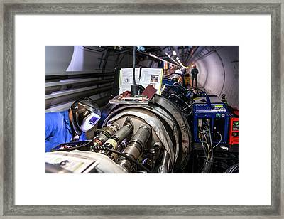 Cern Upgrade Framed Print by Cern