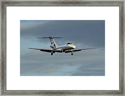 Cessna Citation 525b Framed Print by James David Phenicie
