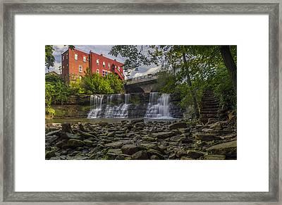Chagrin Falls Framed Print