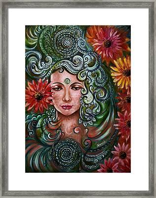 Chakra Sadhna Framed Print