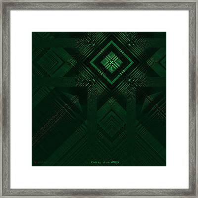 Challenge Of The Matrix  Framed Print