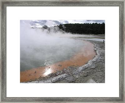 Champagne Pool Framed Print by Christian Zesewitz