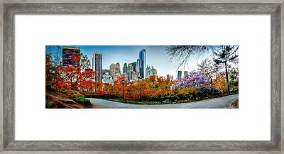 Changing Of The Seasons Framed Print by Az Jackson