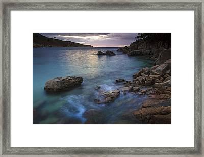 Framed Print featuring the photograph Chanteiro Beach Galicia Spain by Pablo Avanzini