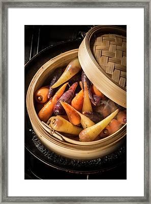 Chanteney Carrots Framed Print