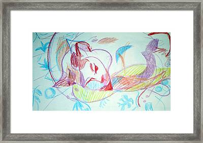 Charity Framed Print by Anita Dale Livaditis
