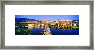 Charles Bridge, Prague, Czech Republic Framed Print