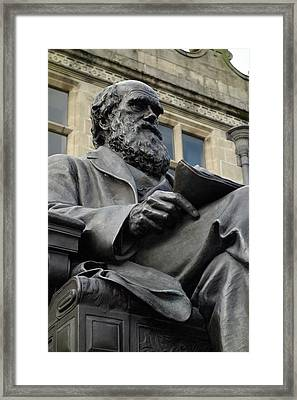 Charles Darwin Framed Print by Cordelia Molloy