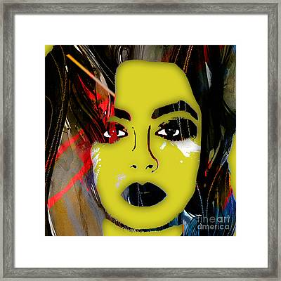 Charli Xcx Collection Framed Print